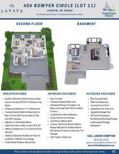 406 Bowyer Circle Lot 11 Brochure