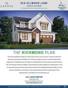 316 Ellwood Lane Chapin SC Brochure